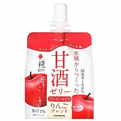 marukome 無酒精蘋果風味果凍飲料(160g)