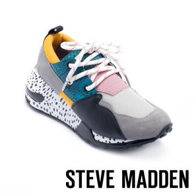 STEVE MADDEN-CLIFF 潮流款拼接時尚老爹鞋-深藍色