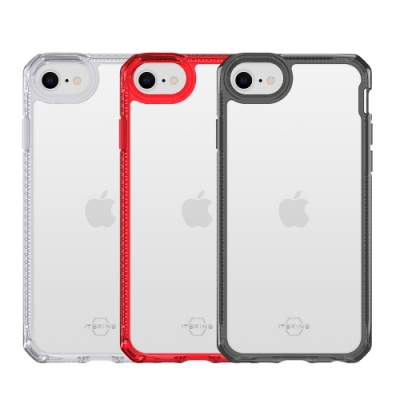 ITSKINS iPhone SE 2020/8/7/6 HYBRID CLEAR-防摔保護殼