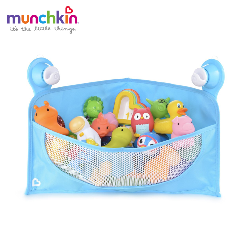 munchkin滿趣健-豪華洗澡玩具牆角收納籃 @ Y!購物