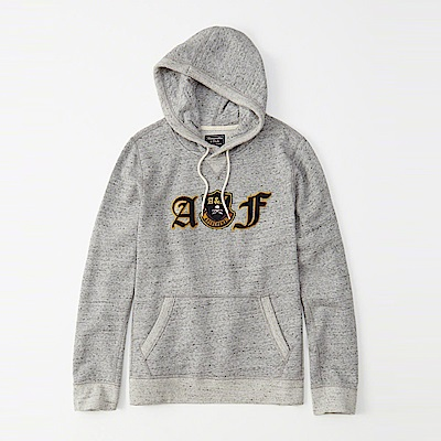 AF a&f Abercrombie & Fitch 帽T灰色 1112