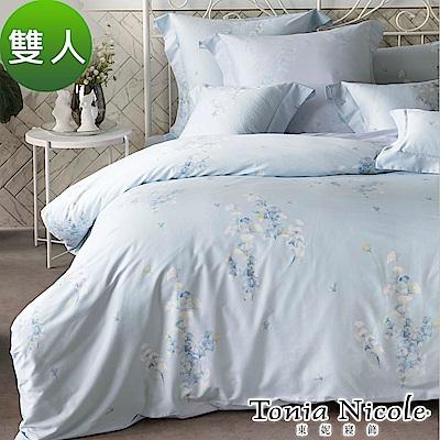 Tonia Nicole東妮寢飾 沐夏杏語環保印染100%精梳棉兩用被床包組(雙人)