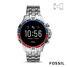 FOSSIL GEN 5加雷特GARRETT HR智能錶 -雙色錶殼X淺銀 46MM FTW4040