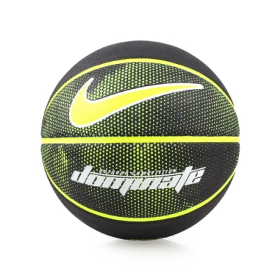 NIKE DOMINATE 籃球-7號球 戶外 N000116504407 黑螢光綠