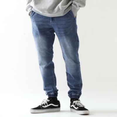 Gerry束口丹寧休閒長褲(2色)-ZIP日本男裝