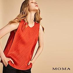 MOMA 斜紋壓褶背心