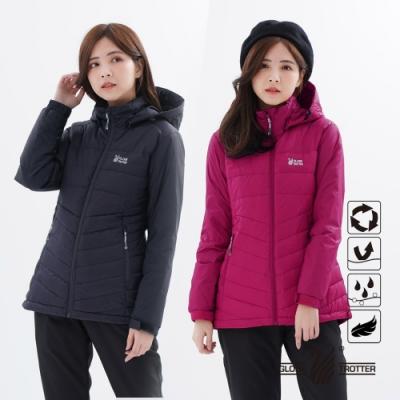 【遊遍天下】女款顯瘦防風防潑禦寒中長版90%羽絨外套GJ22022(多色)