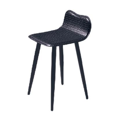 H&D 編織371黑色皮椅