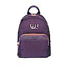 ELLE Active 自由展翼系列-小後背包-紫色