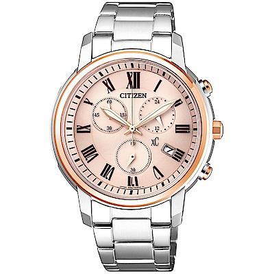 CITIZEN XC 亞洲限定優雅甜美時尚腕錶(FB1434-50Y)