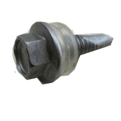 Q16 白鐵六角頭自攻牙螺絲/浪板螺絲攻牙釘 12#x 3/4〞不鏽鋼 (100支/包)