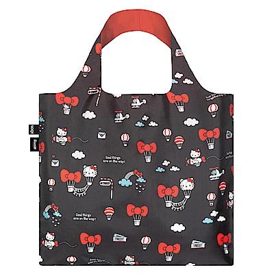 LOQI 購物袋-三麗鷗授權 (Hello Kitty 熱氣球 KT13)