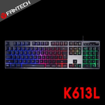FANTECH K613L 多色燈效鋁合金面板電競鍵盤