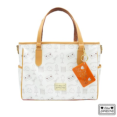 MINI SPRING-Honey-多功能肩背包-柑橘巧克力