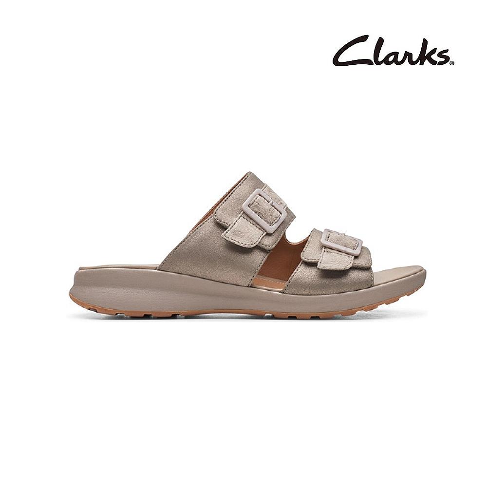 Clarks 街頭風尚 Un Adorn Slide 女涼鞋 褐灰色 CLF48264SS20