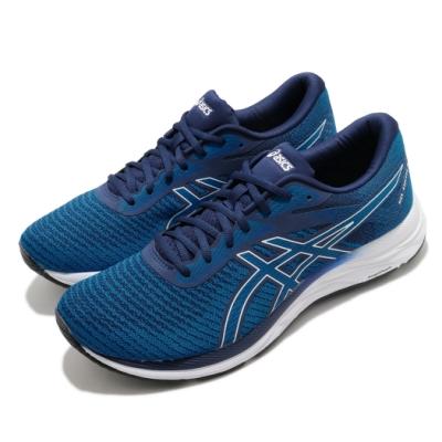 Asics 慢跑鞋 Gel-Excite 6 Twist 男鞋 亞瑟士 路跑 輕量 緩震 透氣 穿搭 藍 白 1011A610400