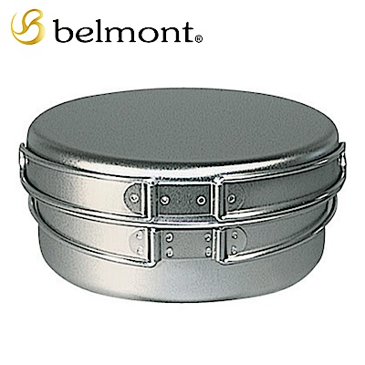 日本Belmont 超輕量登山露營鈦鍋組-L