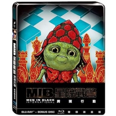 MIB星際戰警:跨國行動 雙碟鐵盒版  藍光  BD