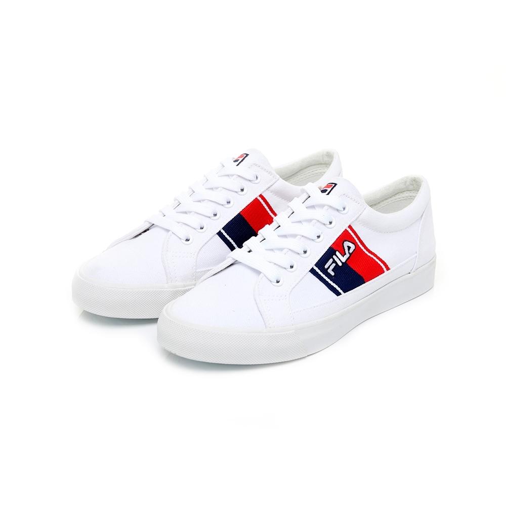 FILA CLASSIC KICKFLIP 女帆布鞋-白 5-C616U-131