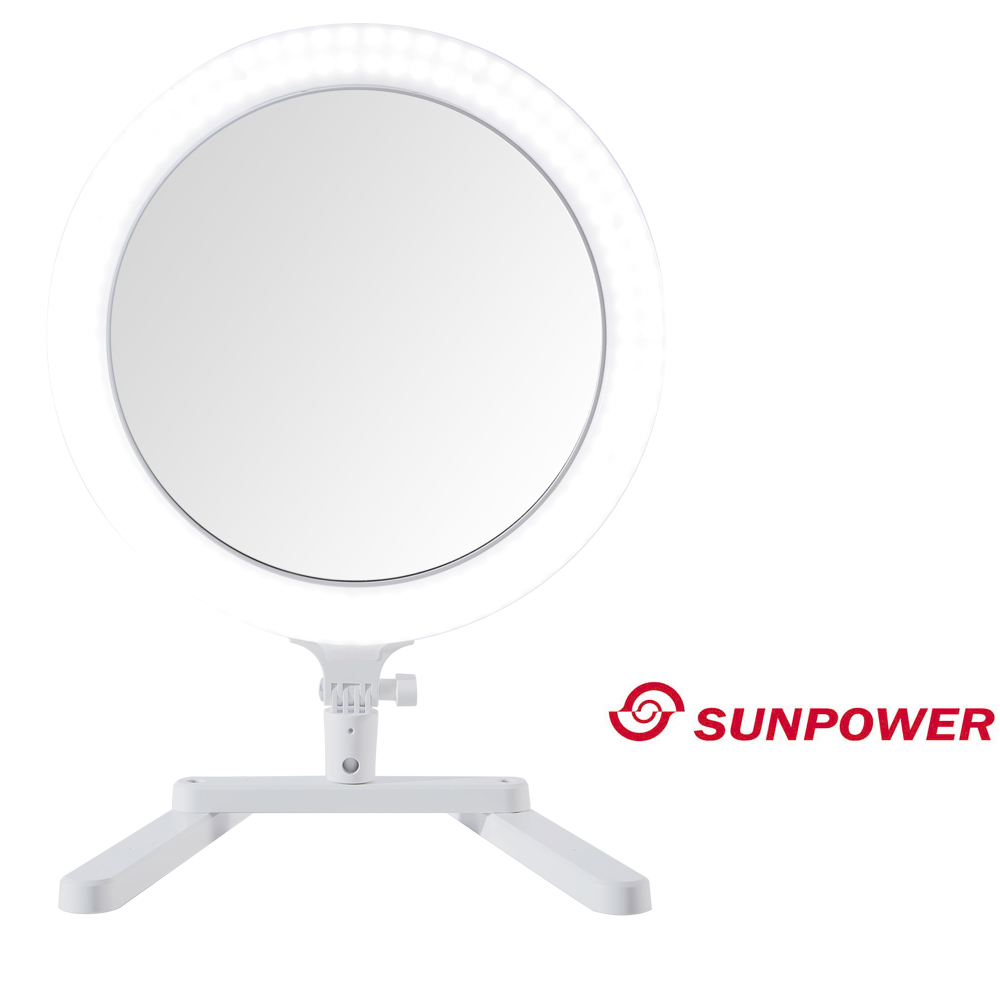 SUNPOWER MP-3 多功能環形 LED 補光燈 (公司貨) 化妝燈 美妝燈