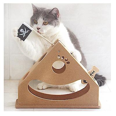 寵愛有家-寵物鐘擺式木質益智有趣寵物玩具(貓咪玩具)