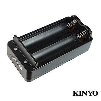 KINYO USB雙槽鋰電池充電器(CQ431)