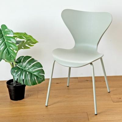 完美主義 曲線設計款餐椅/楓木椅/電腦椅/化妝椅(4色)