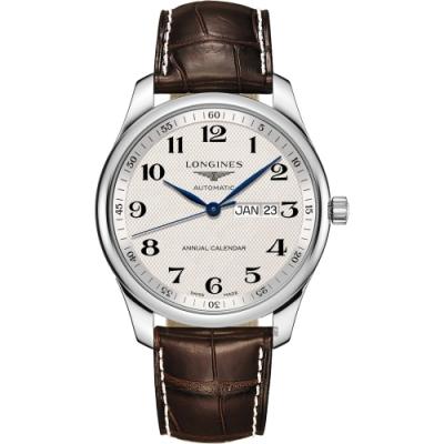 LONGINES 浪琴 Master 巨擘系列機械錶-42mm (L29204783)
