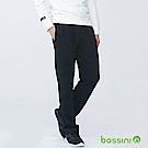 bossini男裝-針織棉褲01黑