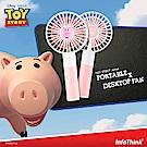 InfoThink 玩具總動員系列行動x桌上兩用風扇 - 火腿豬