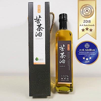 【幸樸作油】秋林一號養生苦茶油500ml