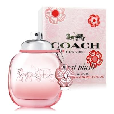 *COACH 嫣紅芙洛麗女性淡香精 Floral Blush 50ml EDP-香水航空版