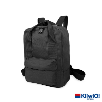 Kiiwi O! 輕便隨行系列帆布後背包 SALLY 黑