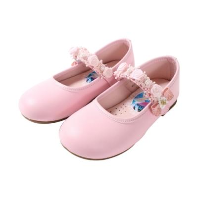 女童台灣製冰雪奇緣手工公主鞋 sa94523 魔法Baby
