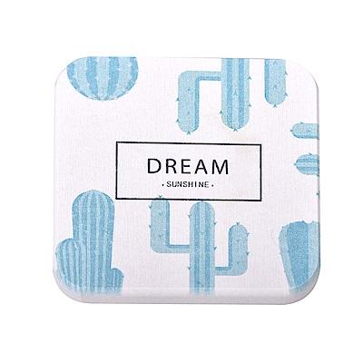 歡樂仲夏 印花珪藻土杯墊/皂墊(10x10cm) 2入組-Dream