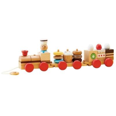日本Ed-Inter - 木玩系列(點心小火車)