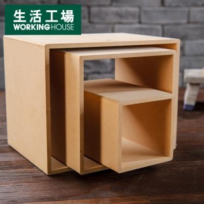【居家辦公 好物嚴選-生活工場】新環保3格多功能架