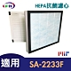 LFH HEPA抗菌濾心 適用:尚朋堂SA2233F/SA-2235E 同SA-H302 product thumbnail 1