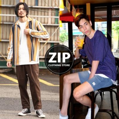 2019春夏長袖襯衫型錄  ZIP日本男裝