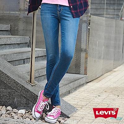 Levis 女款 711 中腰緊身窄管牛仔長褲 亞洲版型