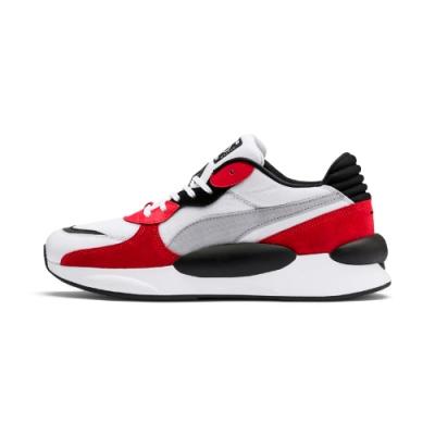 PUMA-RS 9.8 SPACE 男女復古慢跑運動鞋-紅黑色