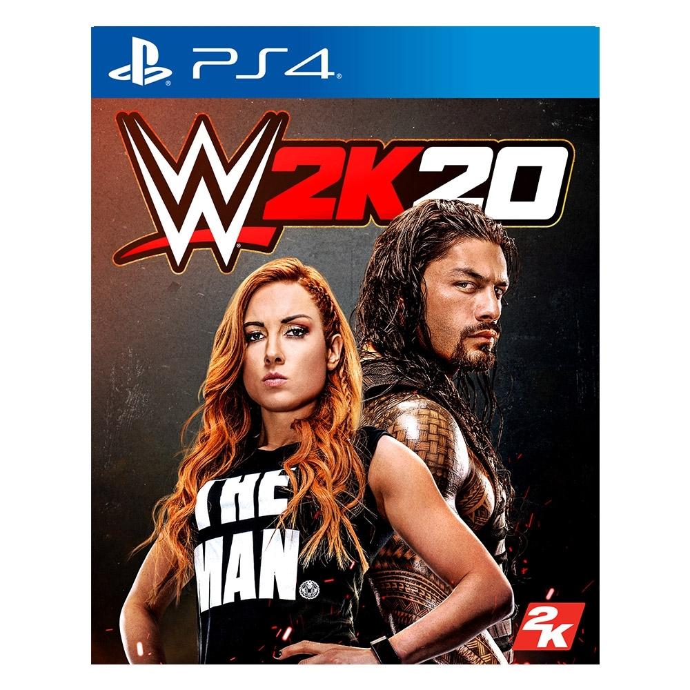PS4 WWE 2K20標準版(英文版)