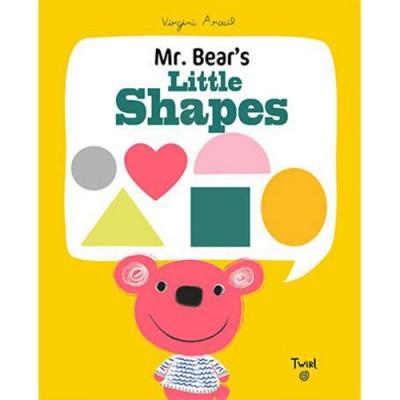Mr. Bear s Little Shapes 小熊的形狀學習書