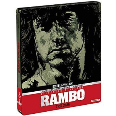 第一滴血1-3 4K UHD+BD 六碟限量鐵盒版 藍波 First Blood