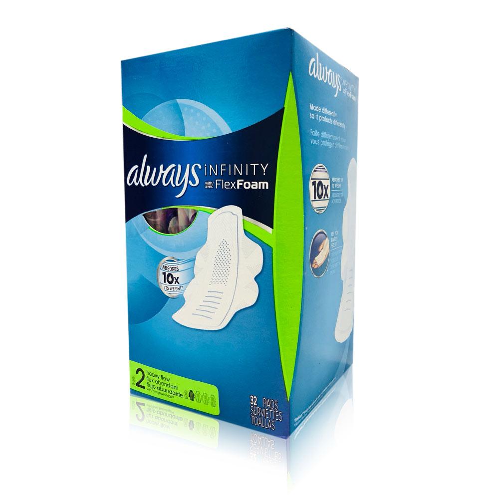 Always 液體衛生棉-未來感系列-一般日用27cm*32片/盒