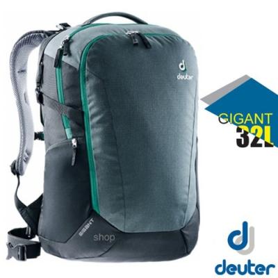 Deuter Gigant 32L 專業電腦後背包_藍/綠