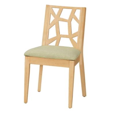 MUNA 依爾馬餐椅(布)(實木)(1入) 48X57X84.5cm