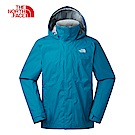The North Face北面男款藍色防水透氣衝鋒衣|3SPI8EE