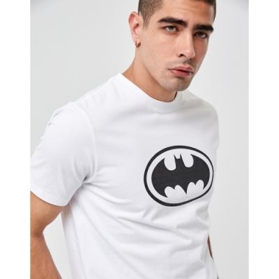 CACO-MIT 蝙蝠俠蜂巢短T-情侶款(兩色)-男【UDC002】