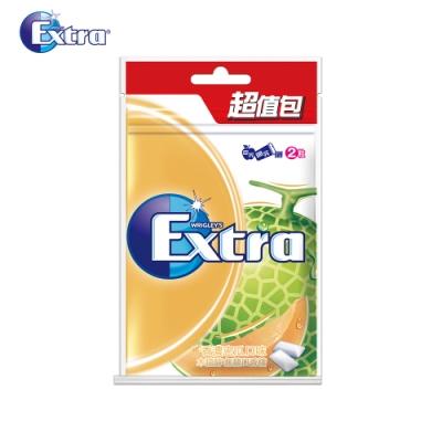 Extra 香濃密瓜潔淨無糖口香糖(44粒超值包)